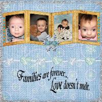 Families are forever