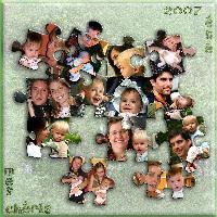 grand children family puzzle