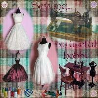At the Dressmaker