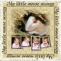 My little mouse Scampy
