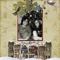 The Girls Christmas 2008