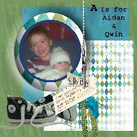 A is for Aidan and Qwin