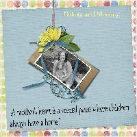 Dakota and Mommy 2008