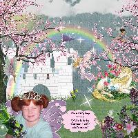Fairy Princess in a Magical Kingdom