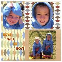 BOYS WILL BE BOYS 22809