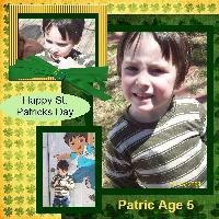 Partic  on St Patricks Day