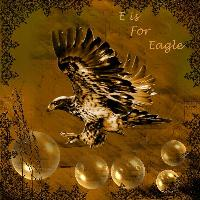 E is for Eagle
