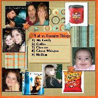 5 of my Favorite Things
