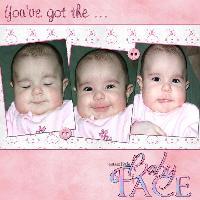 Cutest Little Baby Face