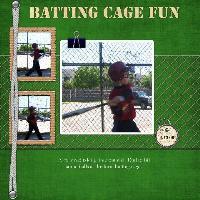Batting Cage Fun
