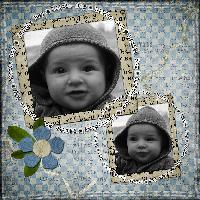 My lil boy