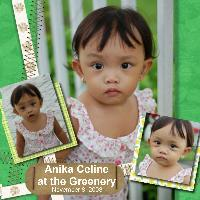 Anika Celine at the Greenery