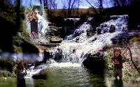 Enjoying At The Falls