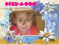 Peek-A-Boo Rebecca, my niece