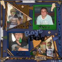 Boys Rule 12/01/2009