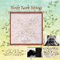 Birch Bark Biting