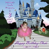 Chole's 3rd Birthday