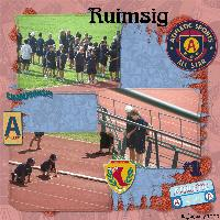 Ruimsig Athletics 16/01/2009