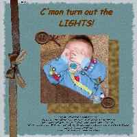 C'mon turn out the lights!