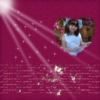 Kayla, Easter 2009
