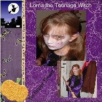 Lorna the teenage witch