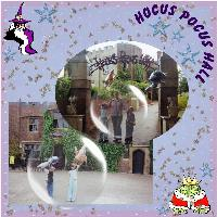 Hocus Pocas Hall old photos
