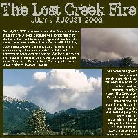 Lost Creek Fire 2003