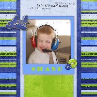 1st Flight with Papa