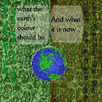 SAVE THE EARTH...