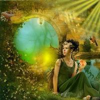 Magic world of a fairy...
