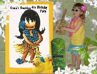 Grace 's Hawaiian Birthday Party