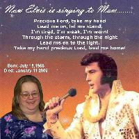 Now Elvis is Singing to Mom!