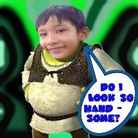 Shrek?Daniel?One person?
