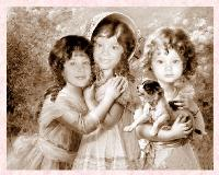 ::My Granddaughters in the 18th Century!!::