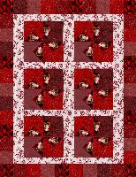 A Red Quilt for Darcie