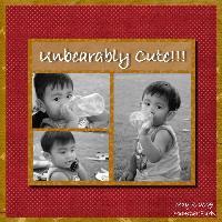 unbearably cute boy!