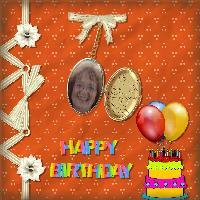 Happy Birthday Mat