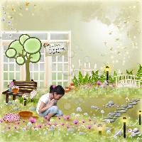 Janice's Whimsical Garden