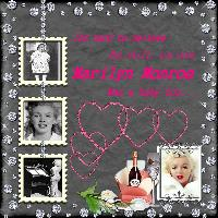 Marilyn as a baby