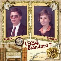Standerd 7 @ Hoerskool Die Adelaar in 1984