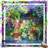 Magic Bubble Garden