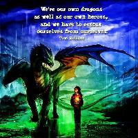 Dragon & Child Together