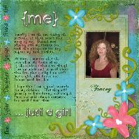 Me ...Just a Girl