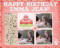 Happy Birthday Emma