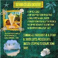 Banana Colada Smoothie