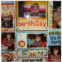 Grandson's second Birthday