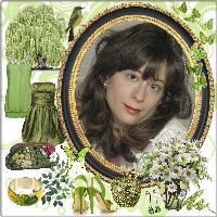 Lally Beautiful In Green!