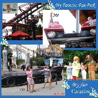 My Favorite Fun Park Six Flags