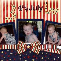 Baby's 1st 4th Of July