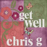 Scrapbook for Chris G - Get Well Soon
